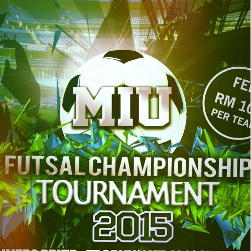 Futsal Championship Flyer