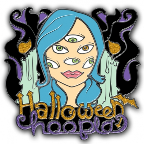 Halloween Hoopla Lapel Pin