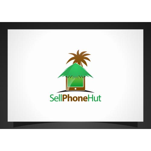 Logo design for cellphone hut
