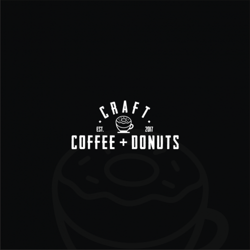 Combining between cup and donut to stand for company