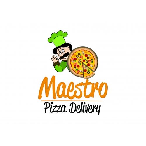 Maestro Pizza Logo