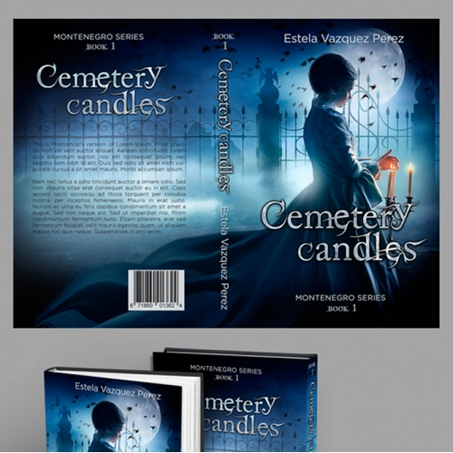 Cemetery Fantasy Book Cover